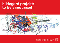 Postkarte hildegard projekt:to be announced, Copyright: Heiko Hildebrandt